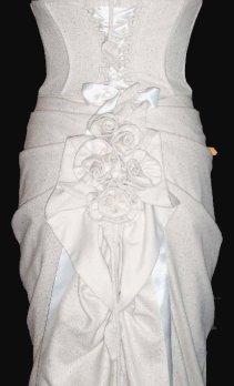 Phia Ecouture Bridal Gown - rear skirt detail