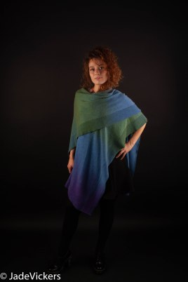 Upcycled Cashmere Wrap