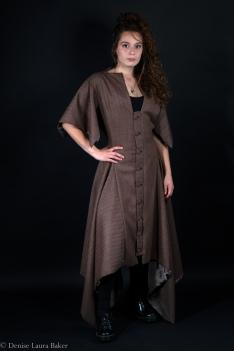Vintage Tweed Dress. Size 12