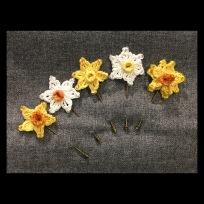 Crochet Daffodil Pins £10
